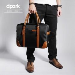 Męska czarna torba idealna do pracy lub studia. Zmieścisz w niej laptopa do 15.6cali lub podręczniki i zeszyty. Bardzo e