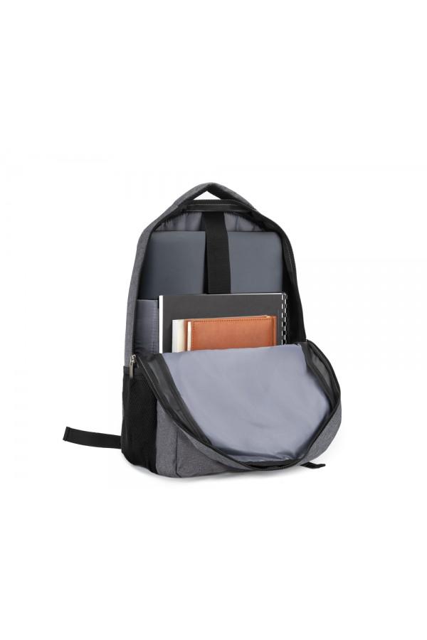 Plecak miejski na laptopa Solier SV10 szary