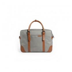 Męskaszara torba idealna do pracy lub studia. Zmieścisz w niej laptopa do 15.6cali lub podręczniki i zeszyty. Bardzo el